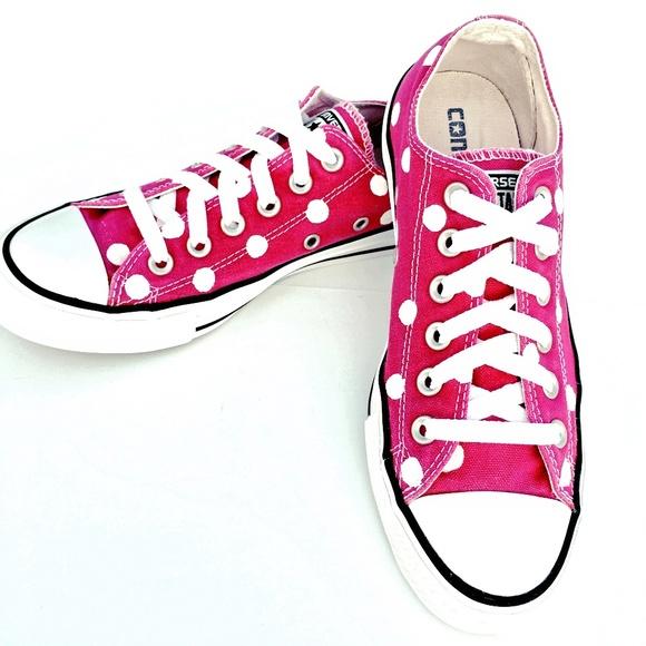 f5a4d49d7744cc Converse Shoes - Converse RASPBERRY Polka Dot Chuck Taylor All-Star